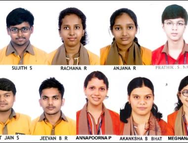 11 students of Expert PU College bag KVPY fellowship