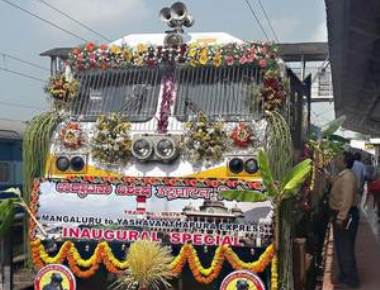 Citizens unhappy as train is named after Gomateshwara