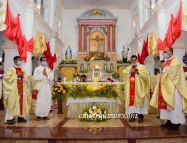 The feast of the Nativity of BVM was celebrated with active involvement and participation of Bejai Parishioners.