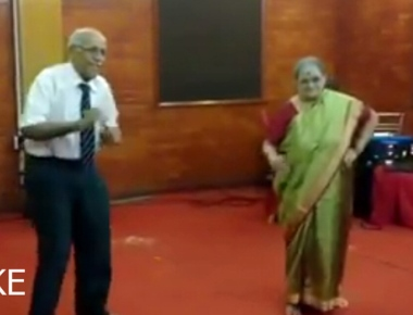 Fake video of Dr B M Hegade dancing doing round