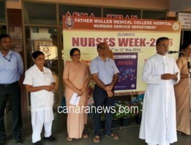 Father Muller Medical College Hospital celebrates International Nurses day