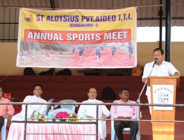St Aloysius ITI organizes zestful sports meet