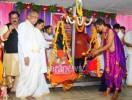 ಜೆರಿಮೆರಿಯ ಶ್ರೀ ಕ್ಷೇತ್ರ ಉಮಾ ಮಹೇಶ್ವರೀ ದೇವಸ್ಥಾನದ ಸಭಾಗೃಹದಲ್ಲಿ