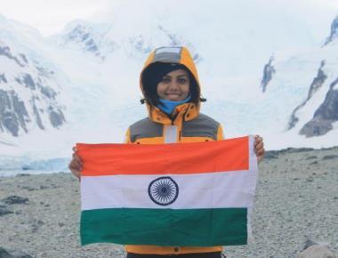 Manipal student explores Antarctica second t