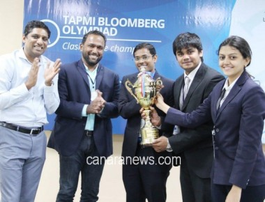 2nd edition of the TAPMI Bloomberg Olympiad held