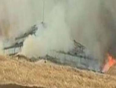 Fire breaks out during Telengana CM's event