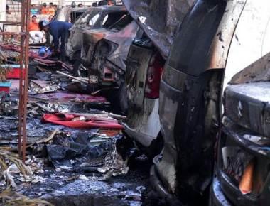 Two killed in Kharghar car showroom blaze