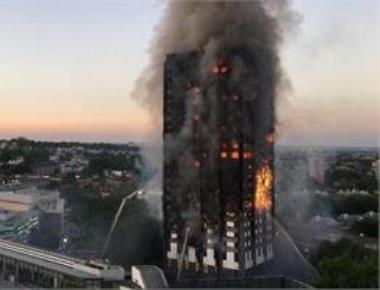 12 dead in massive fire at London residential tower