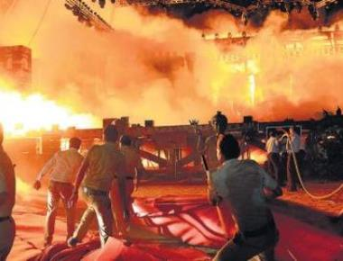 Maharashtra Night fire: Probe indicts Wizcraft, blames short circuit