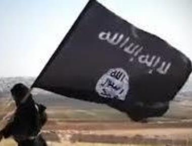 Flags of Islamic State, Pakistan hoisted in Kashmir