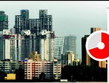 Why are 77,000 flats unsold?