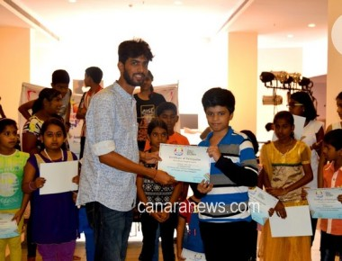 92.7 BIGFM conducts painting competition for the  kids on World Environment day.