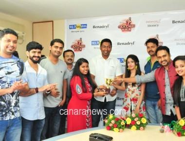 Amulya  Mallikarjun  wins Benedryl BIG Golden voice -4 regional round