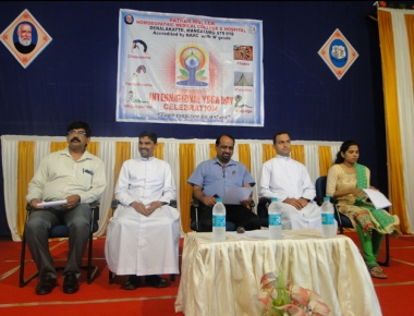 FMHMC celebrates International Yoga Day