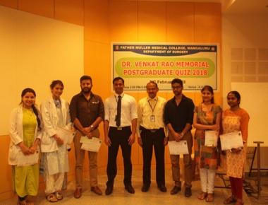 FMMC conducts Venkat Rao Memorial PG Quiz