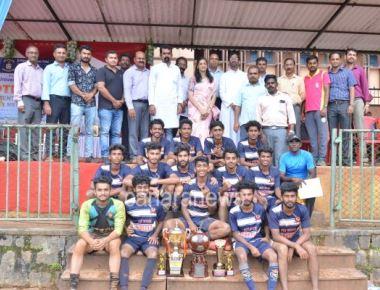 Mangalore University Inter Collegiate Football Tournament concluded at SPC Puttur