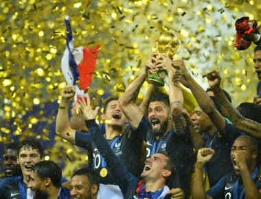 France on top of the world again