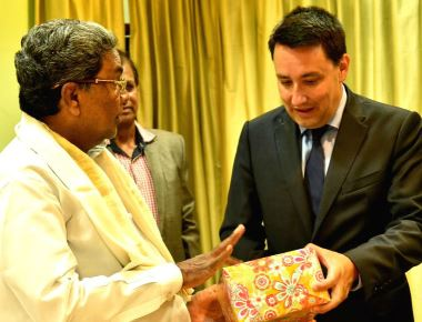 French Ambassador to India meets CM