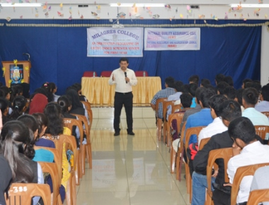 Milagres College holds orientation programme for freshers