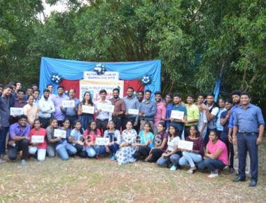 Friendship day celebrated in a unique manner considering Tree as BEST FRIEND by Rotract club and ICYM