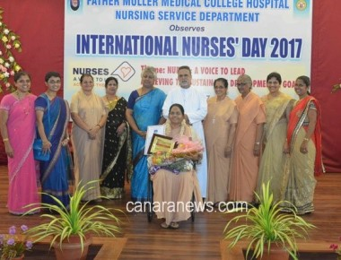 Week-long celebrations mark 'Nurse Day' at Father Muller Institution