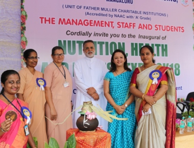 Nutrition health and fitness expo held at FMCI Campus