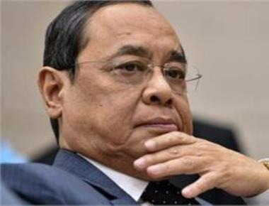 CJI Misra recommends Justice Gogoi as next chief justice