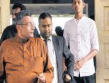Ganapathi's son files complaint in court against George, 2 IPS officers