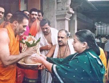 When Jayalalithaa held the golden sword in Kollur