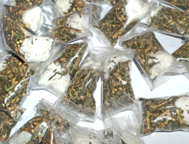 Man arrested with ganja worth Rs 40 lakh