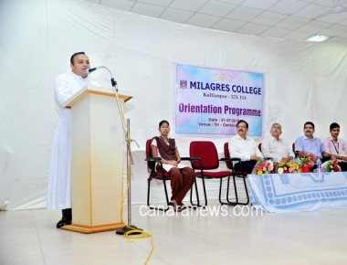 Orientation Programme and inauguration of College in Mialgres College Kallianpur