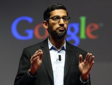 Chennai-born Pichai makes it big at Google