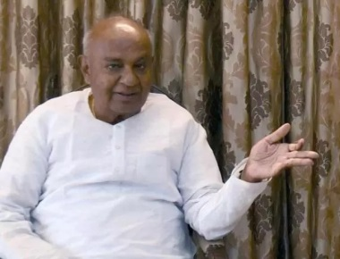 Bengaluru in state of lawlessness under Cong govt: Deve Gowda