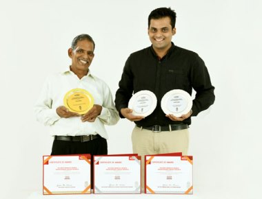 Grace Ice Cream bestowed with three awards of national recognition