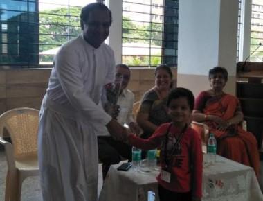 Grandparents' Day celebration in St Aloysius Gonzaga School