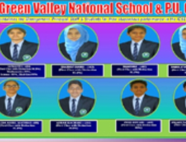 Green Valley National School Shiroor glitters with cent result in ICSE