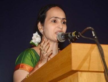 Ushaprabha Nayak felicitated by Shri Mahalasa Narayani GSB Ladies Committee