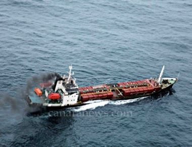 Indian navy and cost guard assit MV Infinity I
