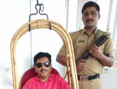 BJP leader Rahim Uchil's gunman suspended