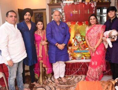 Gurpreet Kaur Chadha welcomed Bappa