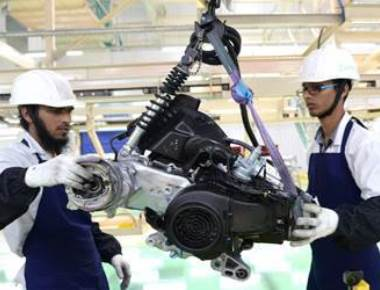 Manufacturing slowdown halves' October factory output growth to 2.2%