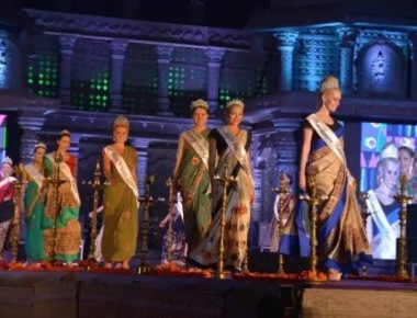 Hampi Utsav comes alive as sizzling Miss Worlds walk the ramp