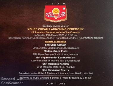 Hangyo Ice Creams Enters Premium Gourmet Series under YO brand