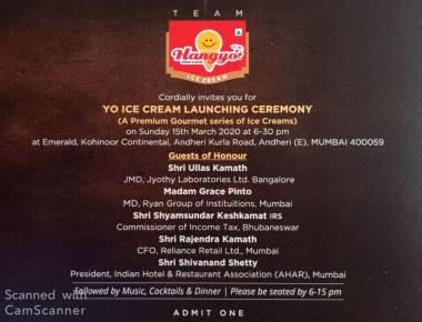 Hangyo Ice Creams Enters Premium Gourmet Series under YO brand