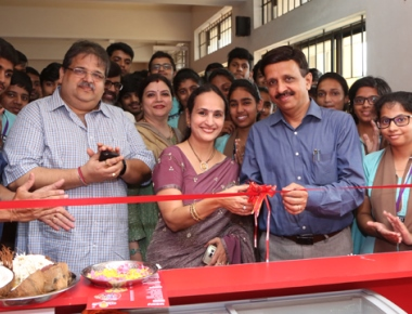 Hangyo ice-cream kiosk inaugurated at Expert College, Valachil