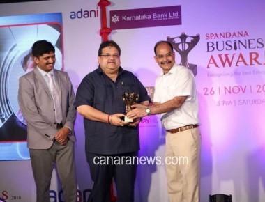 Hangyo Ice Creams bags Spandana Business Award
