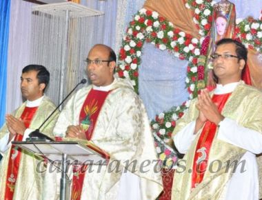 Our Lady of Shrine Harihar – Grand finale of the Feast