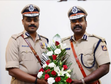 P Harishekaran takes charge as New IGP of Western Range