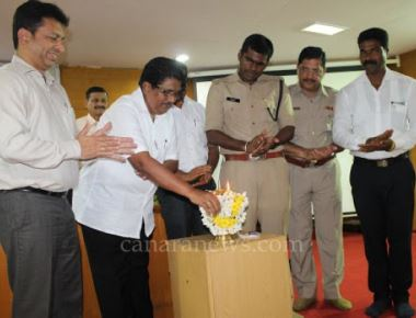 Manipal Health Cards distribution ceremony held at SP office Udupi