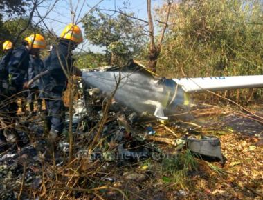 One dead, three injured in a helicopter crash
